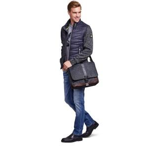 Pánská taška přes rameno Lerros Auvas - černá