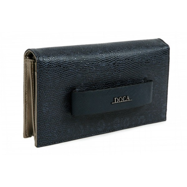 Dámská peněženka Doca 64486 - modrá
