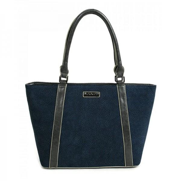 Dámská kabelka Doca 11468 - modrá
