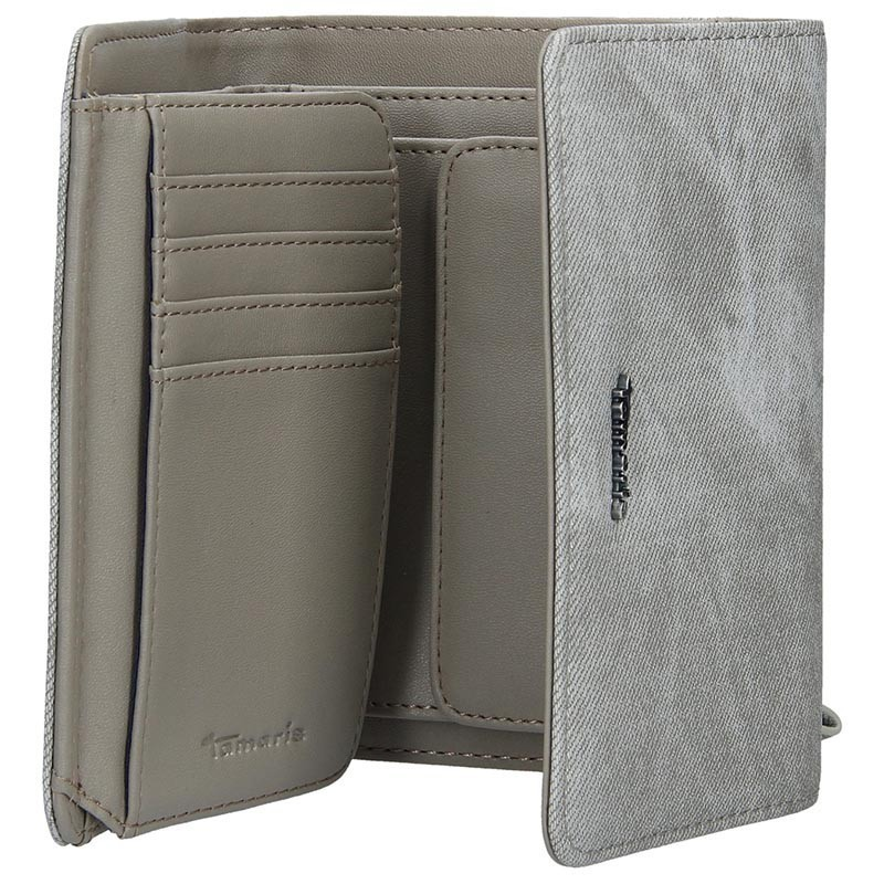 Dámská peněženka Tamaris Mariella - šedá