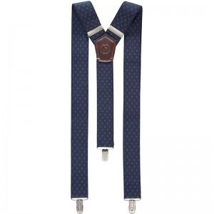 Elegantní pánská šála Lerros 58W1039 - modrá