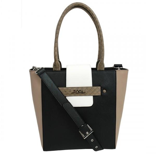Dámská kabelka Doca 11150 - černá