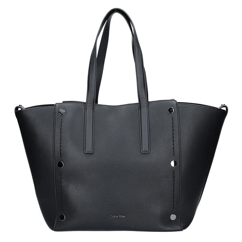 Dámská kabelka Calvin Klein Kamelie - černá