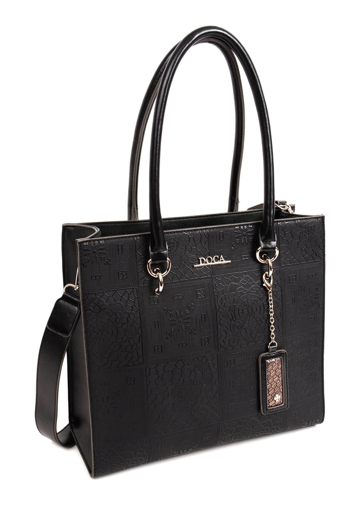 Dámská kabelka Doca 13864 - černá d615e5fcf53