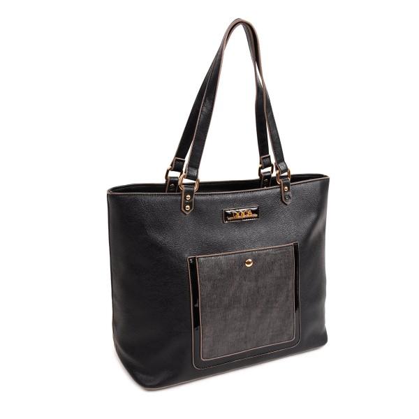 Dámská kabelka Doca 13911 - černá