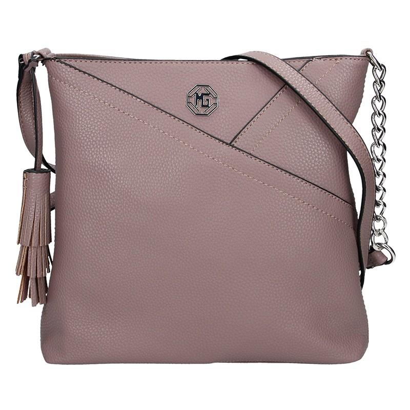 Dámská kabelka Marina Galanti Lisa - růžová 020aa5029a0