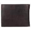 Pánská kožená peněženka Bugatti Rodrigo - tmavě hnědá