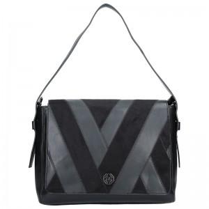 Dámská crossbody kabelka Marina Galanti Alessandra - černá