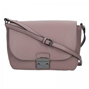 Dámská crossbody kabelka Marina Galanti Alessandra - růžová