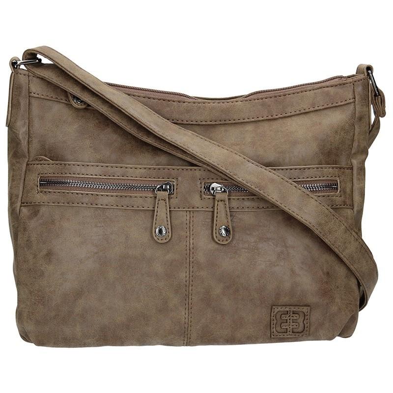 Dámská kabelka Enrico Benetti 66105 - hnědá