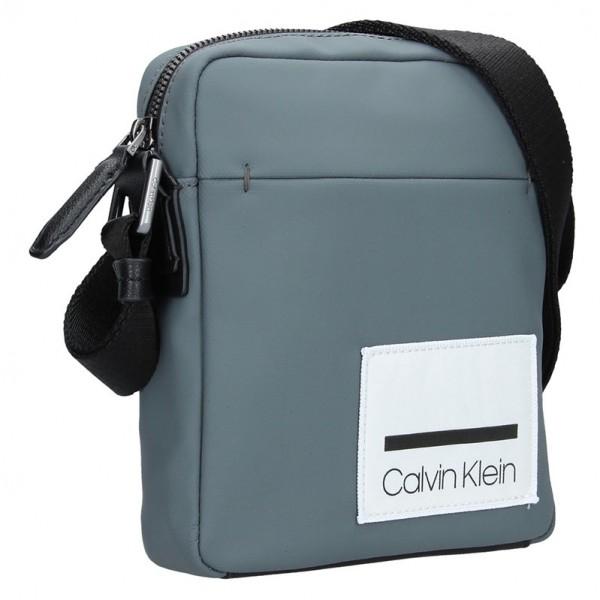 Pánská taška přes rameno Calvin Klein Giacomo - šedá