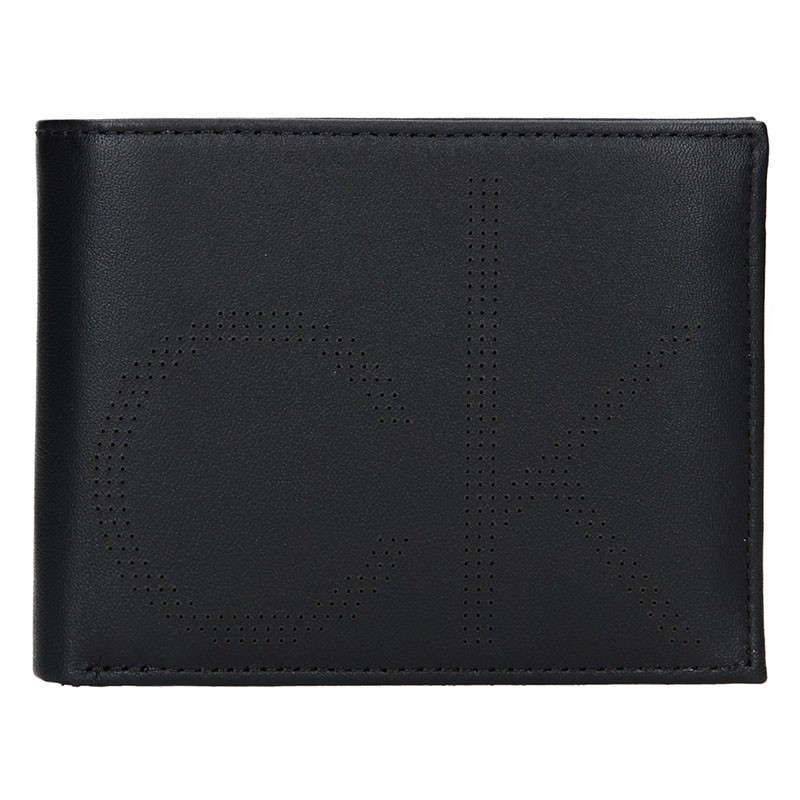 Pánská kožená peněženka Calvin Klein Pietro - černá
