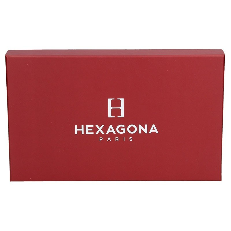 Pánské pouzdro na doklady Hexagona 727556 - černá