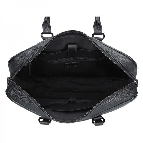 Pánská business taška přes rameno Hexagona Pablo - černá