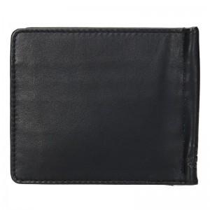 Pánská kožená dolarovka SendiDesign Bruno - černá