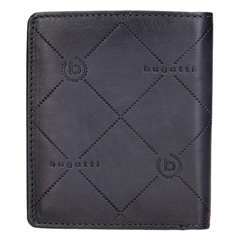 Pánská kožená peněženka Bugatti Heinrich - tmavě hnědá