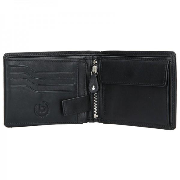 Pánská kožená peněženka Bugatti Werner - černá