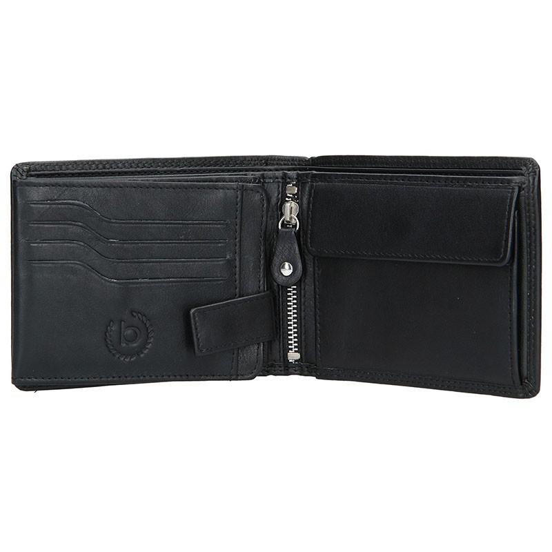 Pánská kožená peněženka Bugatti Gregory - hnědá