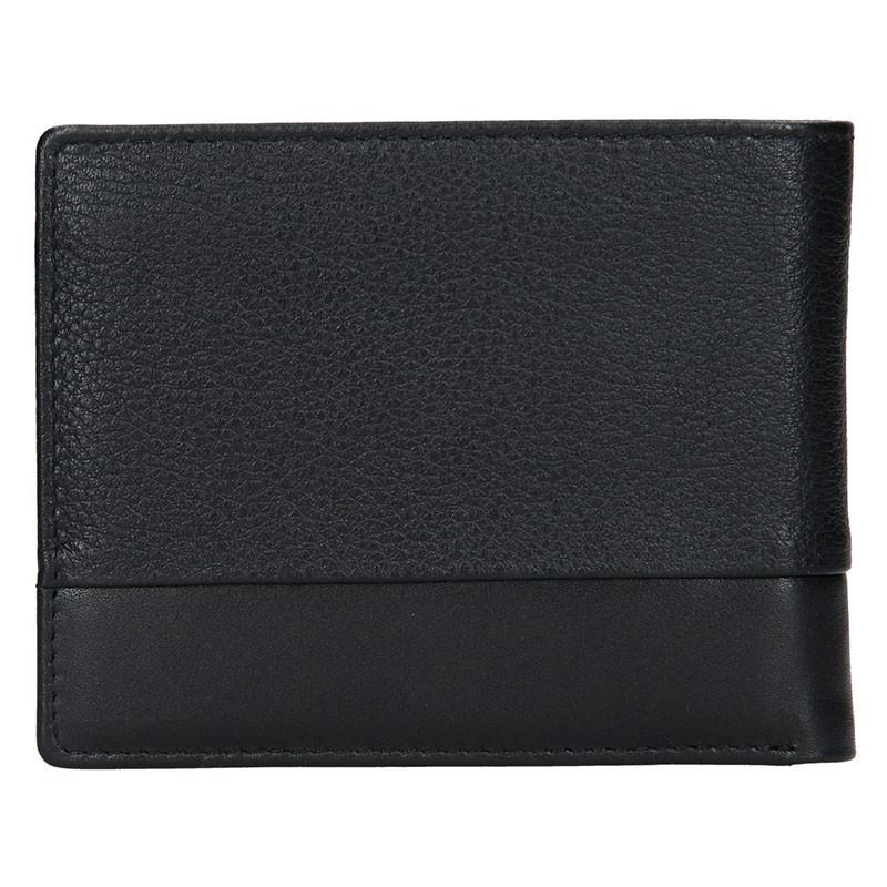 Pánská kožená peněženka Bugatti Gustav - černá