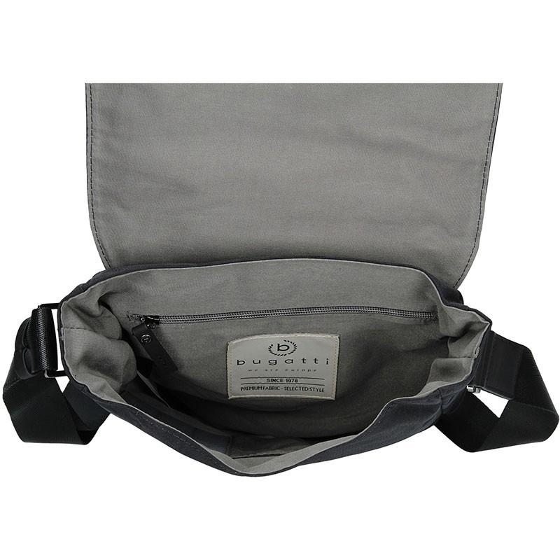 Pánská taška přes rameno Bugatti Moto S - černá