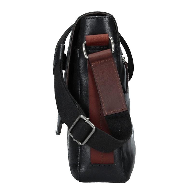 Pánská taška přes rameno Bugatti Grinta D - černá