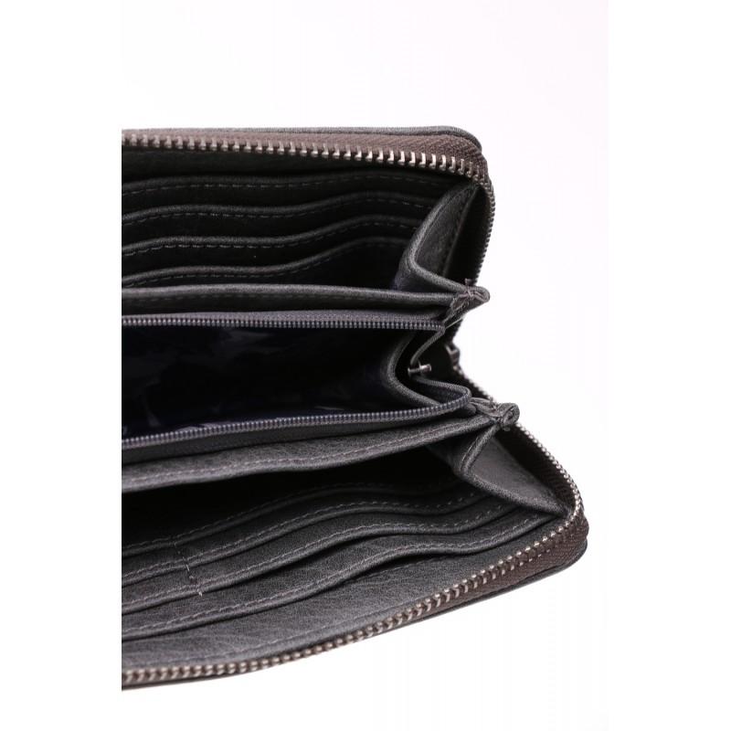 Dámská peněženka Suri Frey Jessica - černo-zlatá