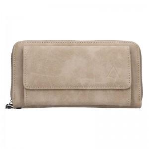 Moderní dámská peněženka Just Dreamz Lora - světle šedá