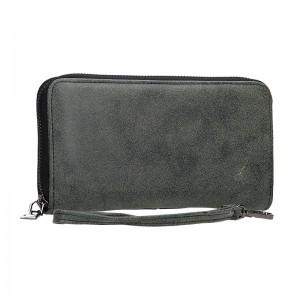 Moderní dámská peněženka Just Dreamz Lora - černo-šedá