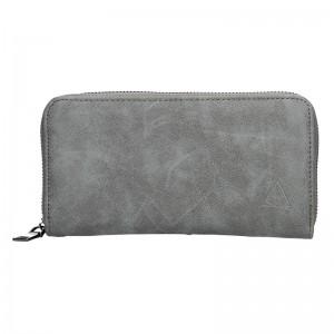 Moderní dámská peněženka Just Dreamz Bára - černo-šedá