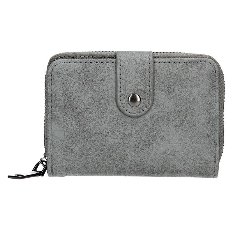 Moderní dámská peněženka Just Dreamz Vilma - černo-šedá