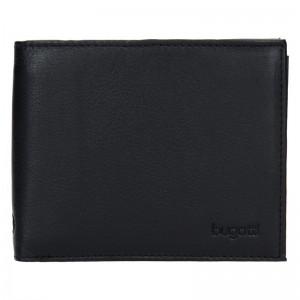 Pánská kožená peněženka Bugatti Sempre- černá