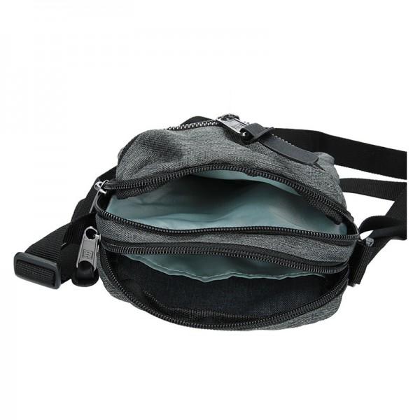 Pánská taška přes rameno Enrico Benetti Paolle - šedá