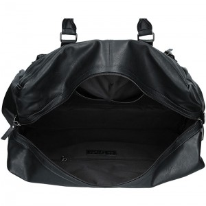 Trendy cestovní taška Enrico Benetti 54601 - černá
