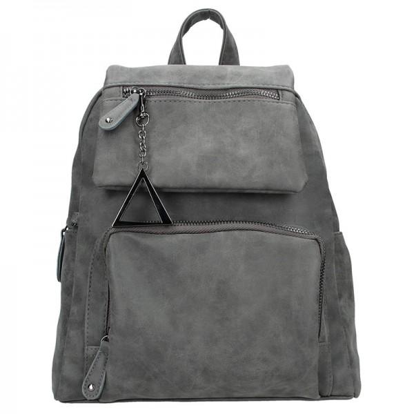 Moderní ekokožený dámský batoh Just Dreamz Apolen - hnědá