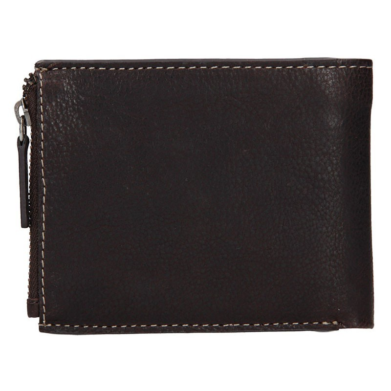 Pánská kožená peněženka Lagen Jonas - červená