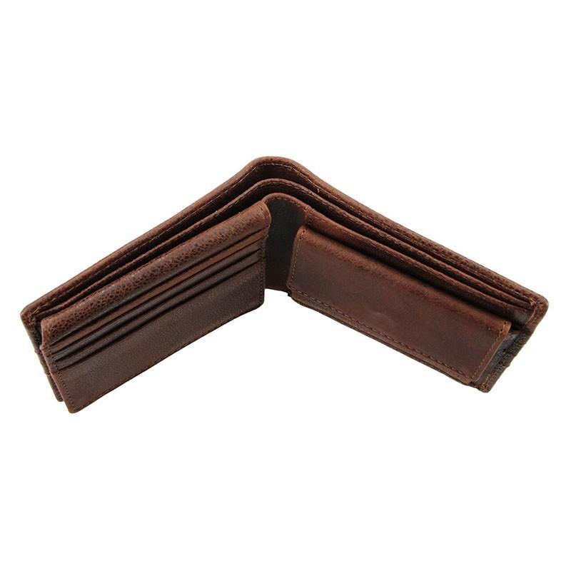 Pánská kožená peněženka Lagen Tobias - černá