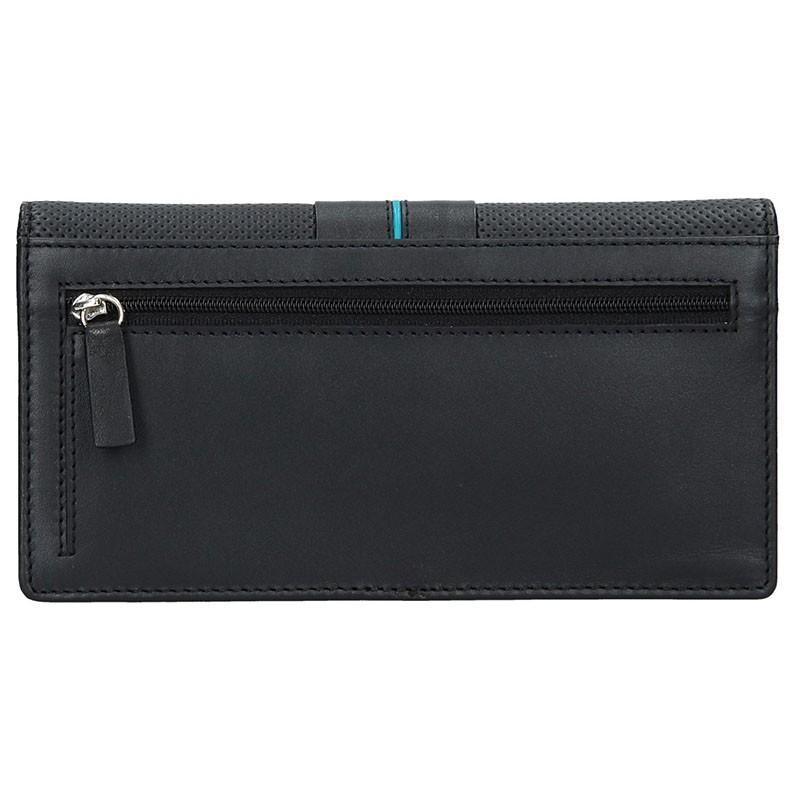 Dámská peněženka Lagen Sabine - černo-červená