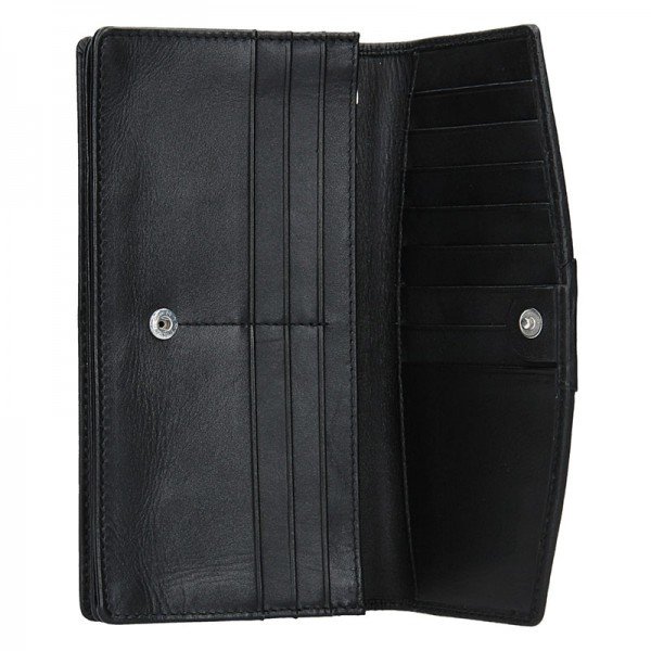 Dámská peněženka Lagen Sabine - černo-modrá