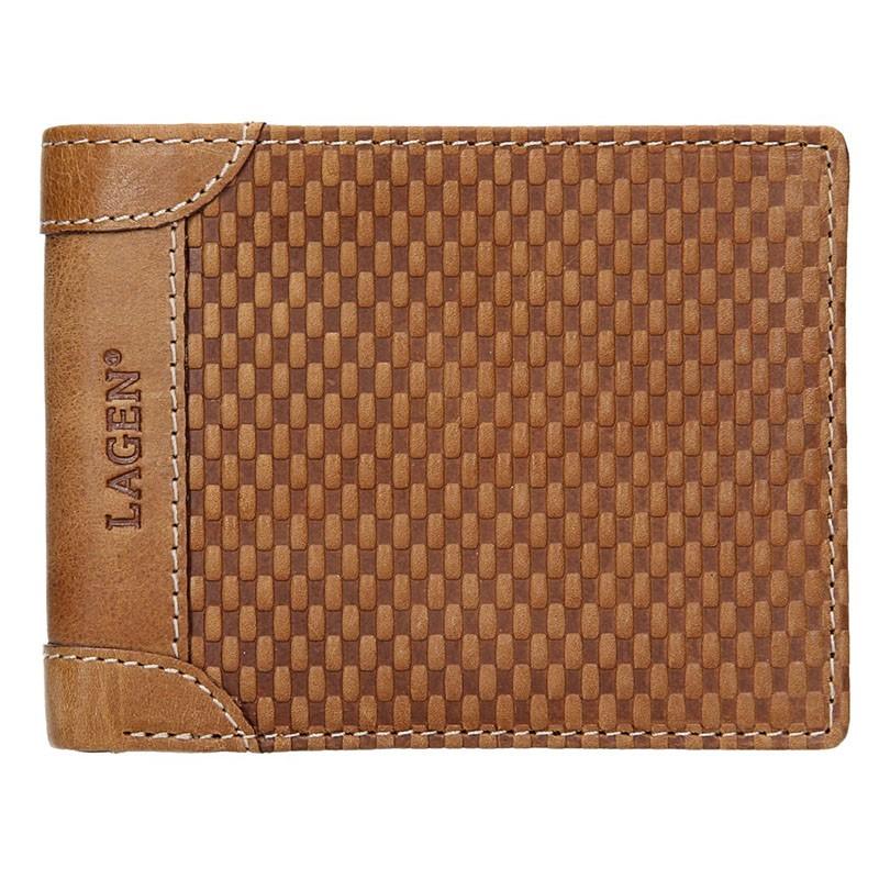 ca91dc9f2c8 Pánská kožená peněženka Lagen Arthur - koňak