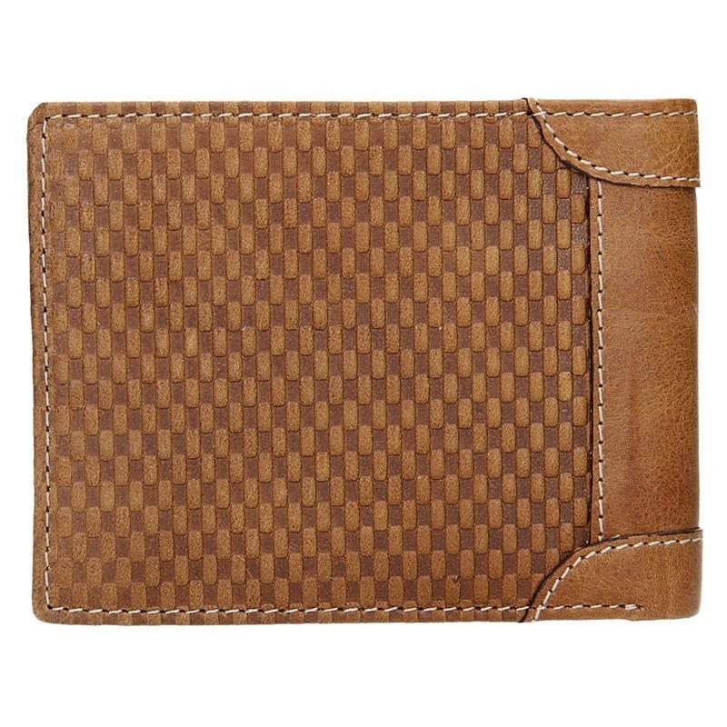 Pánská kožená peněženka Lagen Arthur - modrá