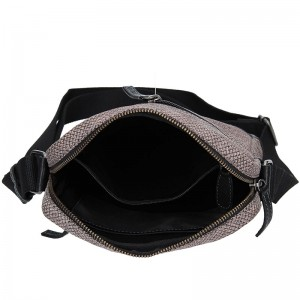 Pánská taška přes rameno Lagen Bill - černo-hnědá