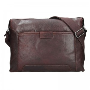 Pánská taška přes rameno Lagen Pierce - světle hnědá