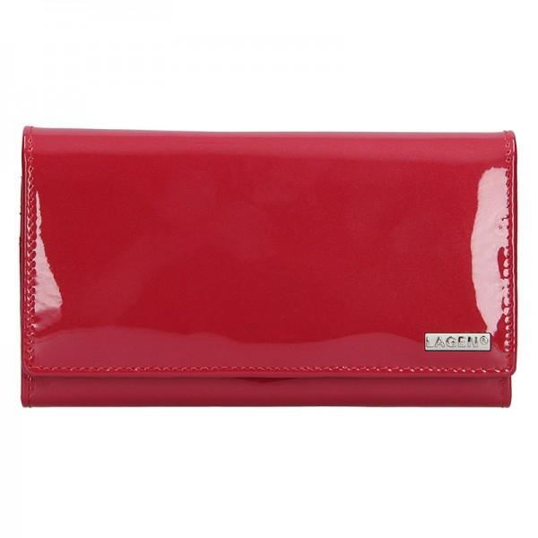 Dámská kožená peněženka Lagen Aisha - modrá