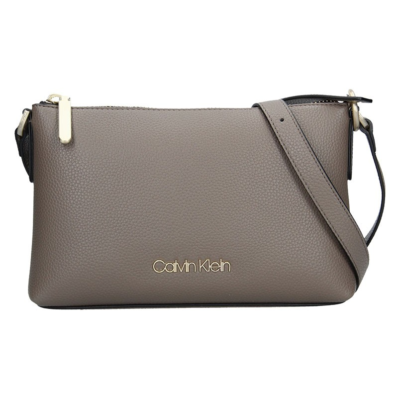 Dámská crossbody kabelka Calvin Klein Martina - taupe
