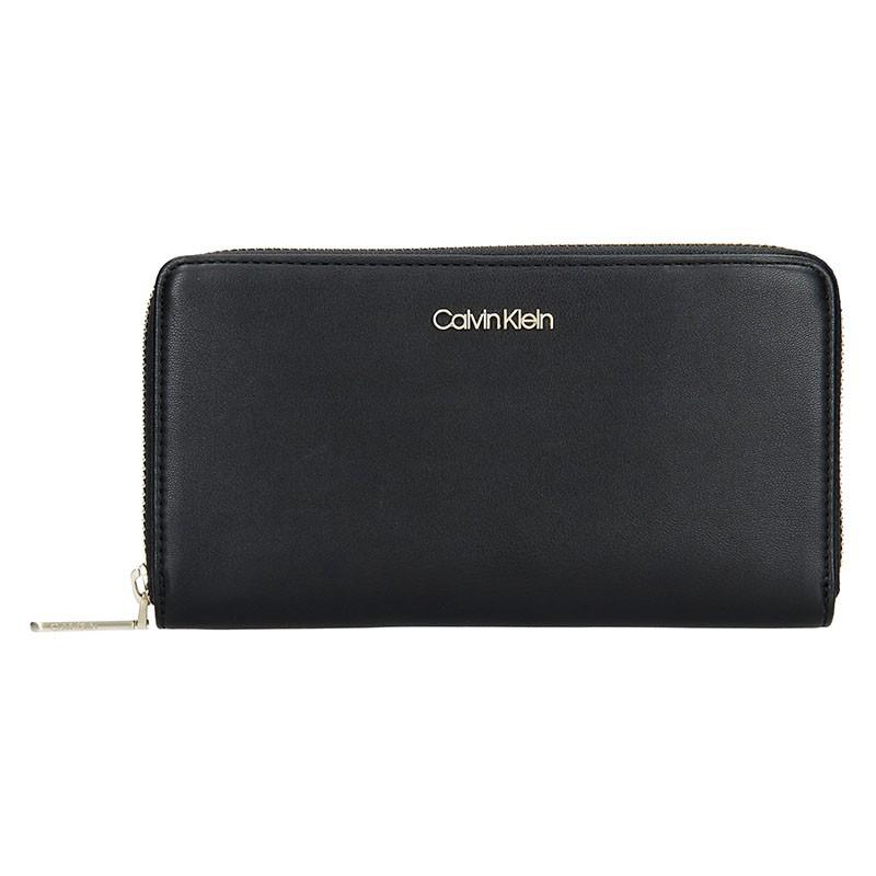 Dámská peněženka Calvin Klein Narra - černá