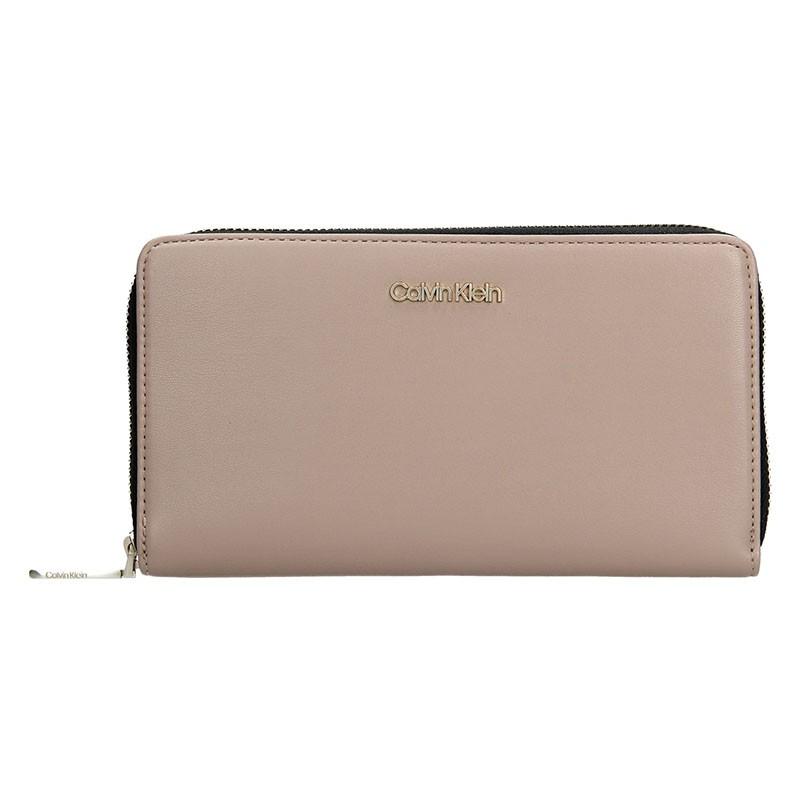 Dámská peněženka Calvin Klein Narra - béžová