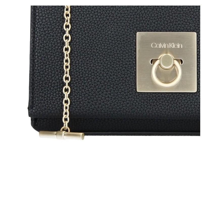 Dámská crossbody kabelka Calvin Klein Lock Medium Flap