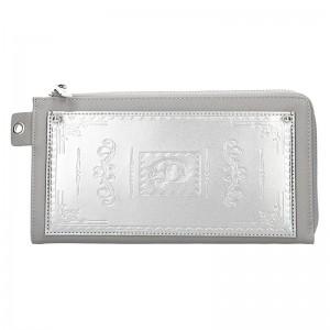 Dámská peněženka Doca 65200 - stříbrná