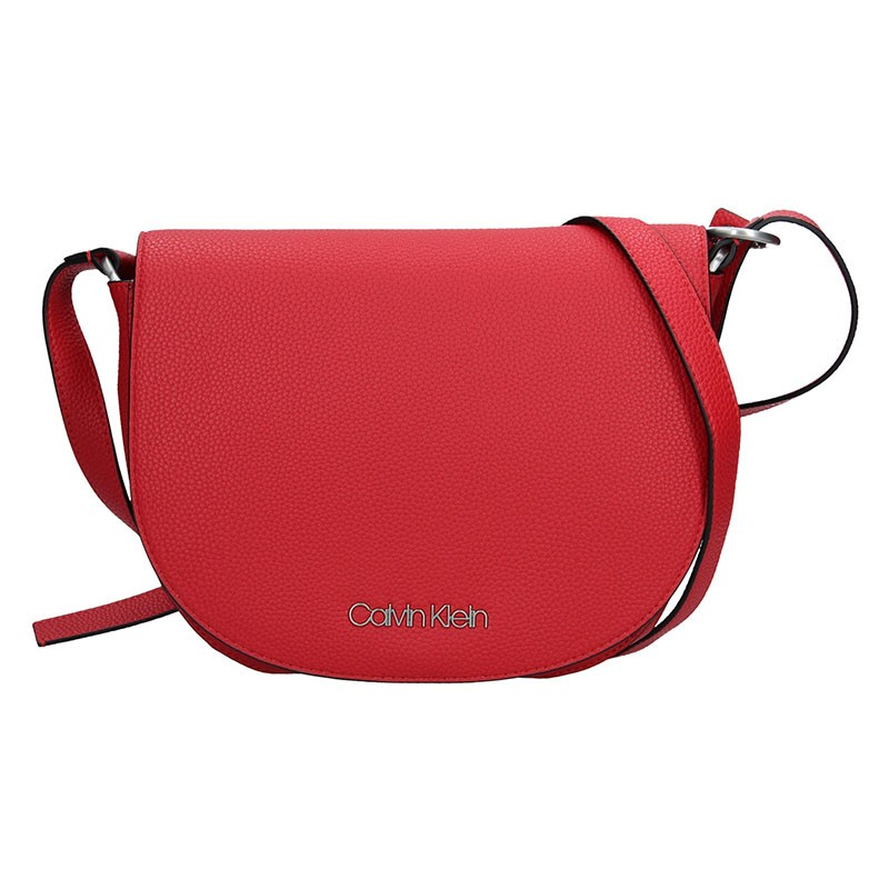 Dámská crossbody kabelka Calvin Klein Nicol - červená