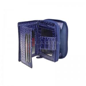 Dámská kožená peněženka Lagen 2077/C - fialová